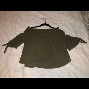 Vanilla Star | Off the shoulder blouse